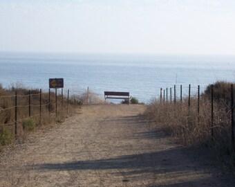 "Photograph ""Beach Path""- 8x10, Print Only"