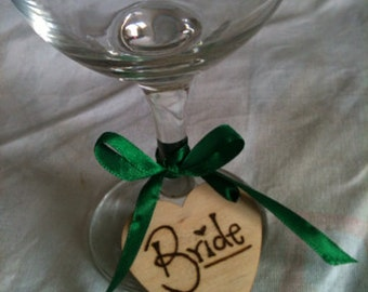 Personalised wooden place names