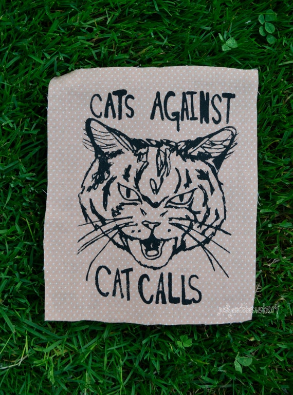 Cats Against Cat Calls Patch