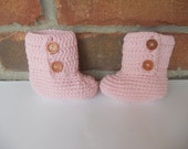 SALE Beautiful and soft Crochet Boots for Babys