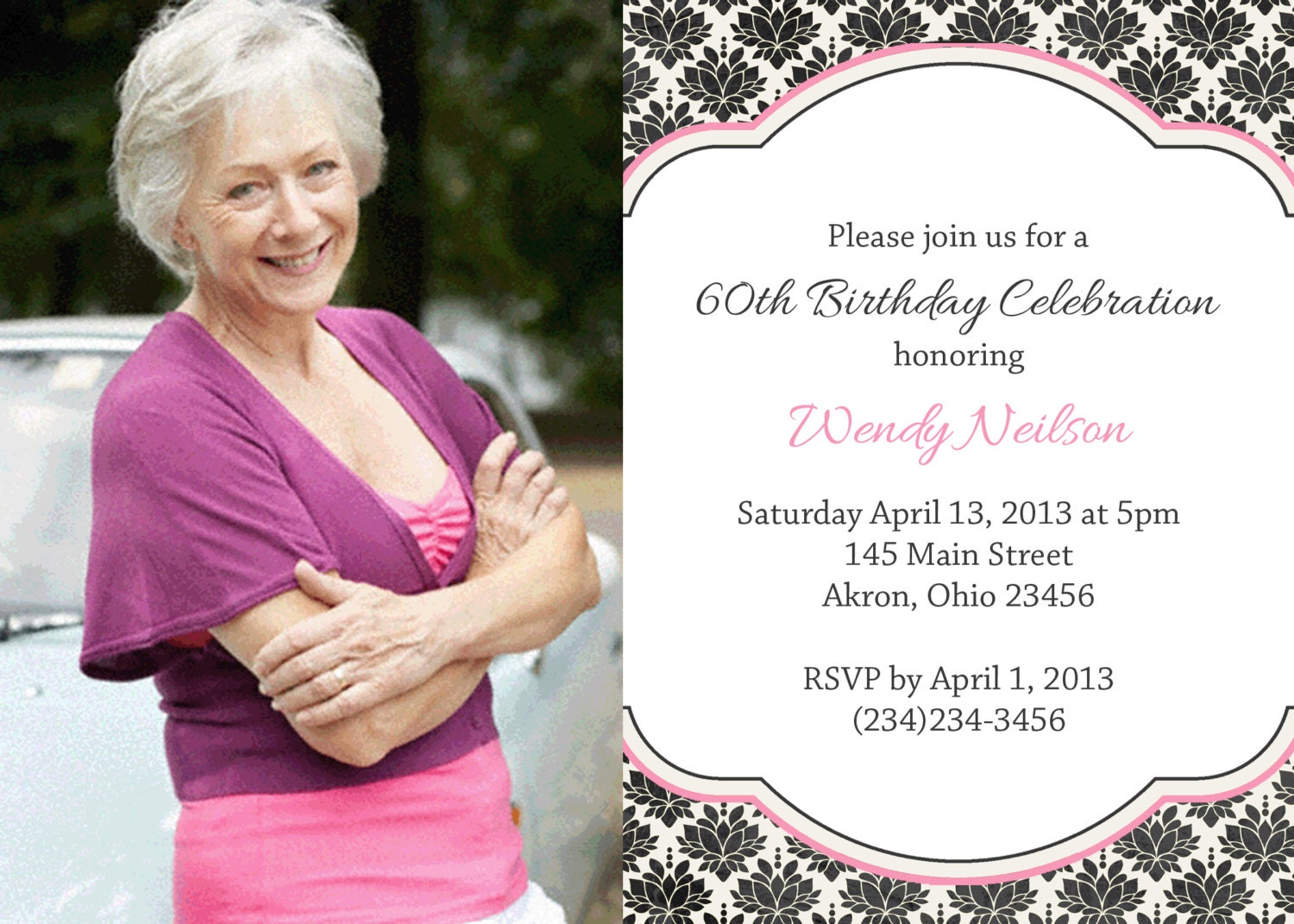 90Th Birthday Invitation Templates for beautiful invitation template