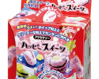 Debika DIY Happy Sweets Clay Craft kit:Traditional Japanese Sweets