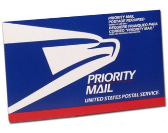 Upgrade to PRIORITY MAIL Rush order