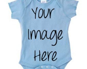 Custom Baby Bodysuit (You Choose the Design)