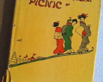 Vintage Japan Book HONORABLE PICNIC 1955