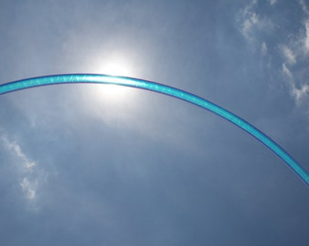 ALL NEW Moonlight Shimmer Holographic Polypro Hula Hoop Customize Your Dance Hoop