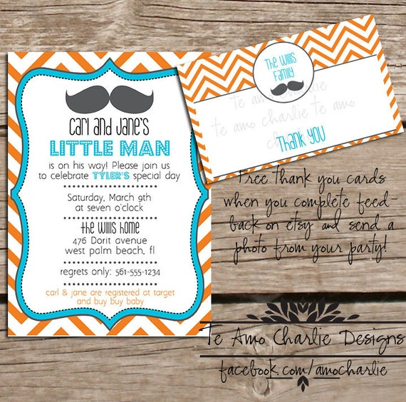 mustache baby shower invitation little man baby shower invitations
