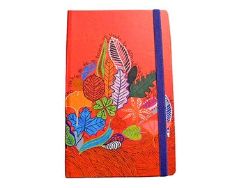 ON SALE Notebook with blank pages/ diary/Journal Large