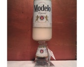 18oz Modelo Beer Bottle Candle Scent: Warm Vanilla Sugar