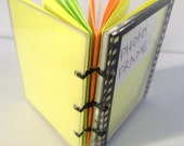 Hand-Stitched Blank Book, Film Strip Photo Booth Frame