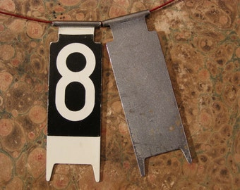 Vintage Cash Register Number 8