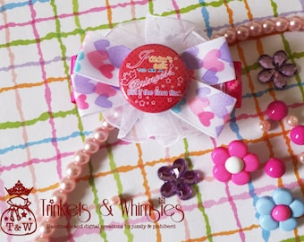 If the Tiara Fits Hair Clip - T&W Girls Rule Collection S2