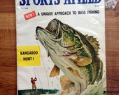 Vintage Sports Afield May 1960 Bass Fishing Hunting