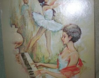Museum Print Ballerina Painting