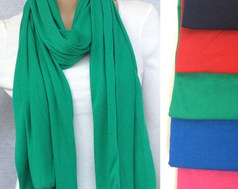 pure color jersey scarf muslim hijab 180x65cm fashion scarf
