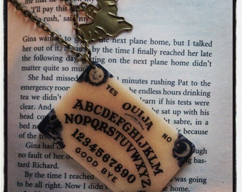 Ouija Board Ghost Necklace