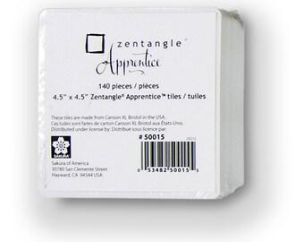 "140 Zentangle Tiles, 4.5"" Square"