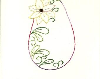 Easter Flower egg 4