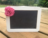 Self Resting Framed Rustic Chalkboard Sign - 4x6 Size Chalkboard - Shabby Chic - Chalkboard Photo Prop - Rustic Wedding