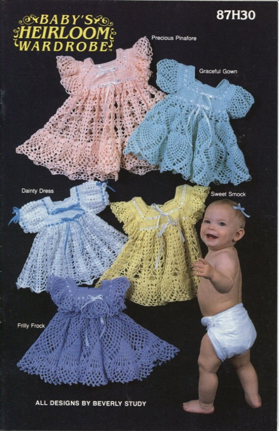 Baby S Heirloom Wardrobe Crochet Dress Patterns Fancy