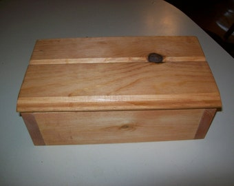 Wood Jewelry  Keepsake Box, Lower Priced! Limited Time!