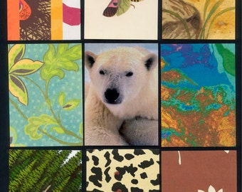 Nature - Artist Trading Card Backgrounds - Precut and Ready To Go!