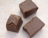 1 Pound Homemade Fudge - Smooth Texture - Sweet Treat Gift Birthday Party Wedding - Choose Your Kind Rocky Road Plain Peanut Butter Nuts