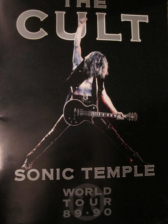 The Cult Sonic Temple Tour Program