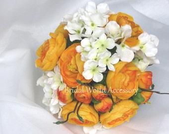 Wedding Accessory Wedding Bridal Bouquet Silk Flowers Wedding Bouquet