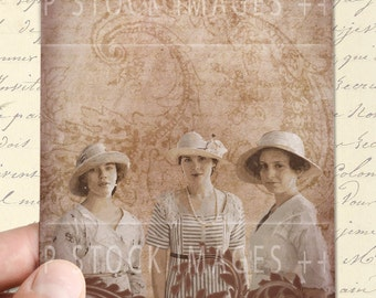 Daughters of DOWNTON ABBEY - Digital Collage Sheet - Printable Journal Cards - Tags - Scrapbooking - Victorian