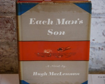 Vintage book, Each Man's Son, Fiction, Father Son