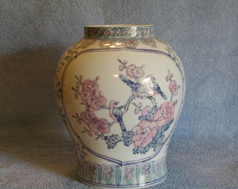 Chinese Vase - Hand Painted