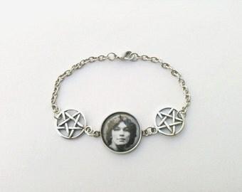 Richard Ramirez pentagram bracelet