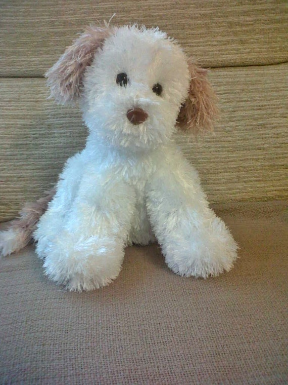 Free Knitted Dog Patterns : Puppy Dog PDF knitting pattern by HuggableBears on Etsy