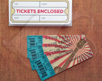 Concert Ticket Save-the-Dates