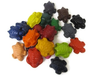 Turtle crayons set of 40 - party favors
