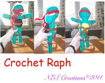 Crochet Amigurumi Raph- Made To Order
