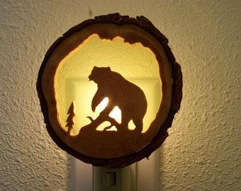 Grizzly Bear nightlight