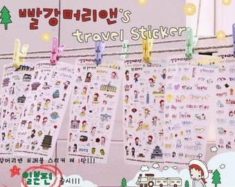 Travel Sticker - Japan- 6 Sheets