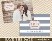 Save the Date Template Photographers Photography INSTANT DOWNLOAD