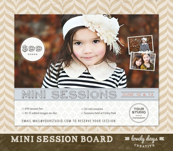photography mini session template board by lovelydayscreative. Black Bedroom Furniture Sets. Home Design Ideas