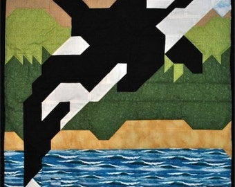 Orca Quilt Pattern