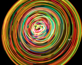 After Midnight by Colorado Hula Hoops - Rechargeable LED Hula Hoop