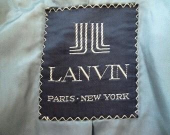 Lanvin Blue Blazer French Designer PARIS Medium