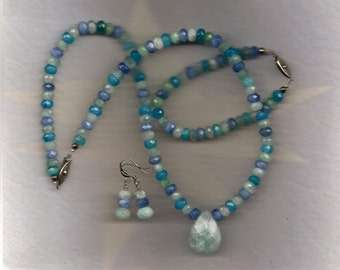 NEPTUNE - Necklace, Earrings and Bracelet