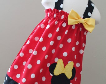 Minnie Mouse Halter style dress