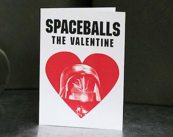 Spaceballs The Valentine - Valentine's Day Card