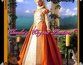 Simplicity 8881 Elizabethan Sewing Pattern Size (14-16-18-20)