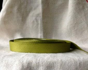 2 yards of sweet pea green simple ribbon easy craft diy wedding diy farmhouse chic