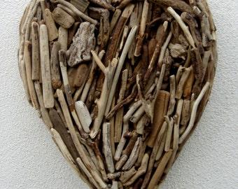 Driftwood XL Heart